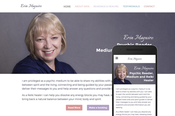 Built with Nimbo website builder - Erin Maguire - Psychic Reader, Medium and Reiki Healer