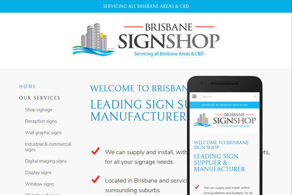 Built with Nimbo website designer - Sign shop Brisbane signs shop signage