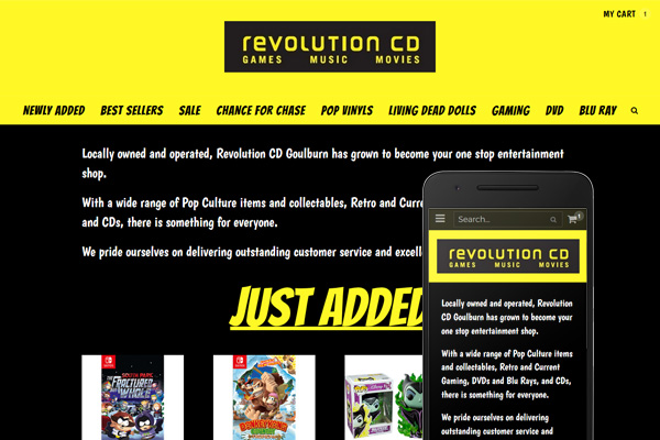 Built with Nimbo website builder - Revolution CD Goulburn