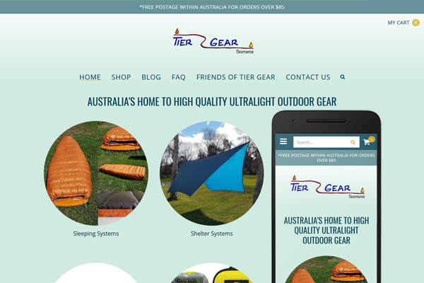 Built with Nimbo website builder - Tier Gear Tasmania - Ultralight Outdoor Adventure Equipment