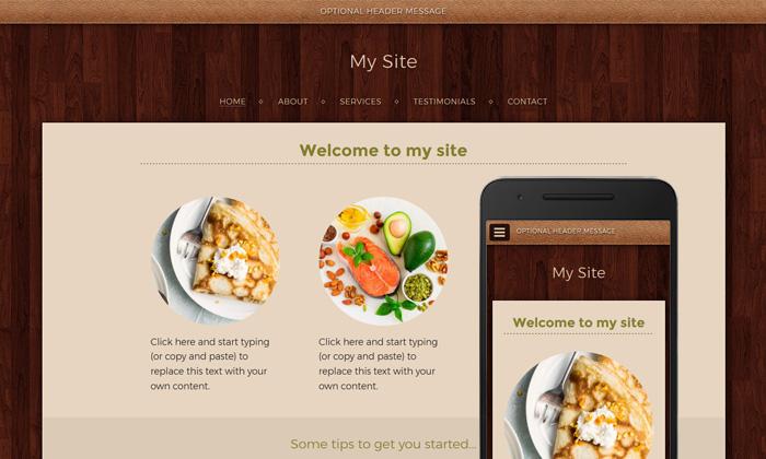 Free website builder theme