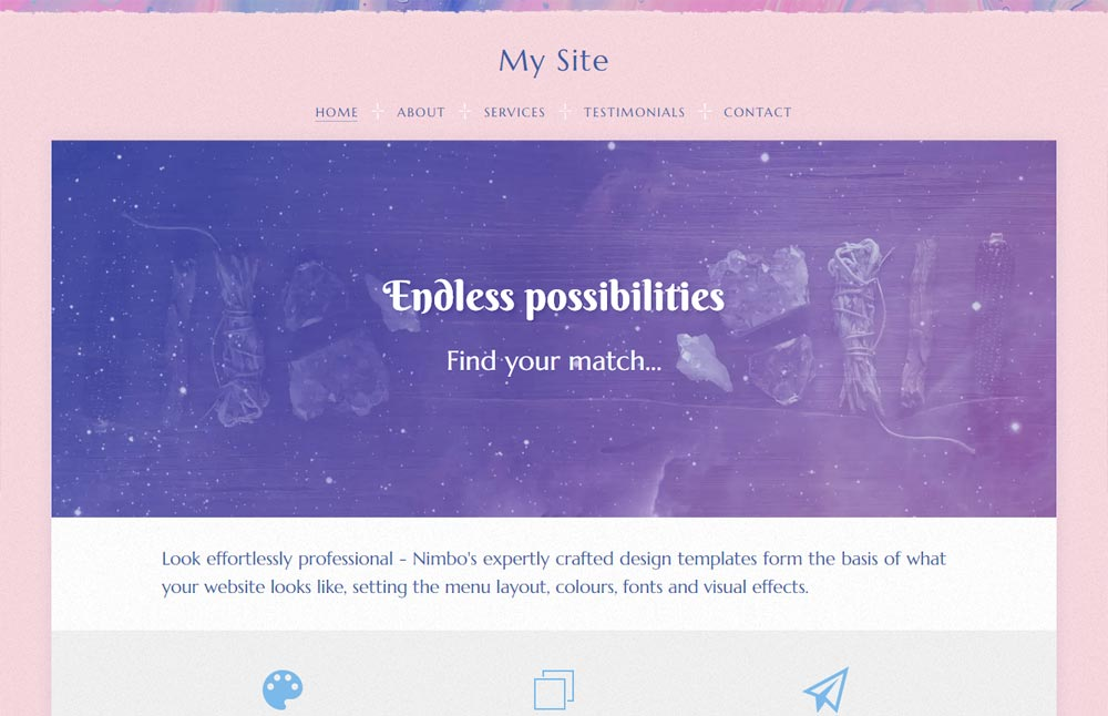 Australian free website builder colour theme